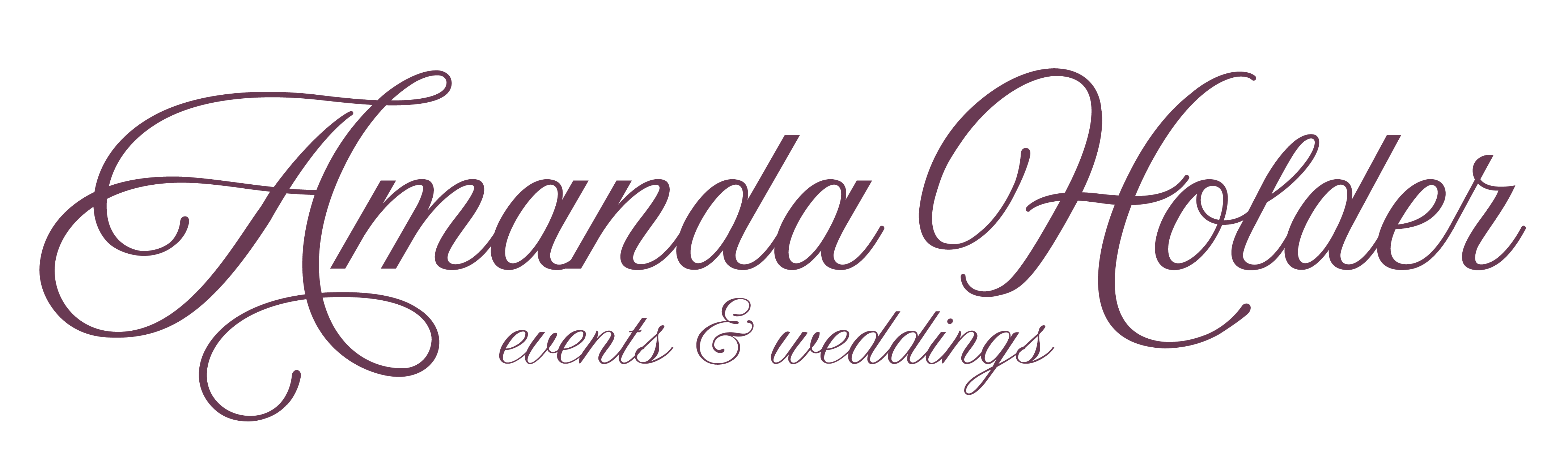 Amanda-Holder-Events-Logo-Plum